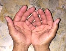 my hands, 2-27-17
