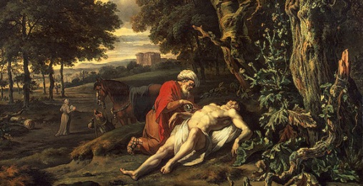 The Good Samaritan, Jan Jansz Wijnants (1632-1684)