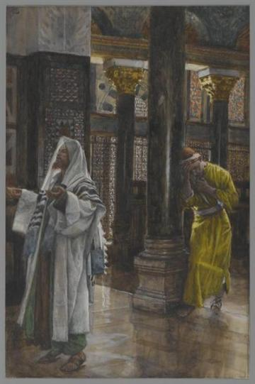 The Pharisee and the Publican (1886-1894), James Tissot (1836-1902)