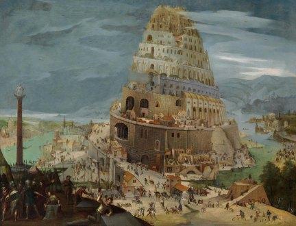 Tower of Babel (1605), Abel Grimmer (1570-1620)