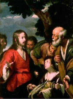 Feeding the multitudes, Bernardo Strozzi