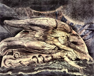 God Created Adam, William Blake (1757-1827)