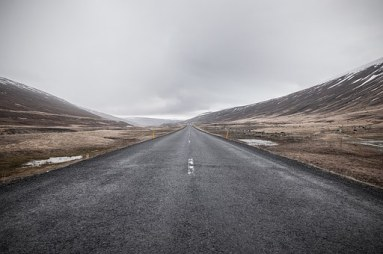 road (with horizon)