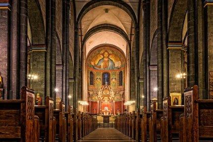 church nave