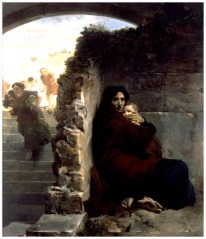 Massacre of the Innocents (Le Massacre des Innocents) (1824), Léon Cogniet (1794-1880), Musée des Beaux-Arts, Rennes