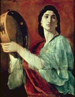 Miriam, Anselm Feuerbach (1829-1880)
