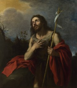 Saint John the Baptist, Bartolomé Esteban Murillo (1617-1682)