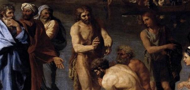 St. John the Baptist baptizes the people, Nicolas Poussin (1594-1665)
