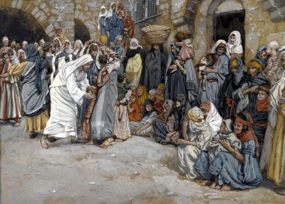 Suffer the Little Children to Come unto Me, James Tissot (1836-1902)