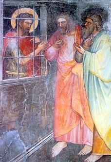 The Baptist in Prison, Giusto de' Menabuoi (1320-1391)