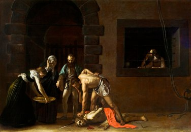 The Beheading of John the Baptist (1608), Caravaggio (1571-1610)