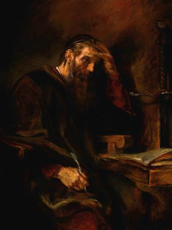 The Apostle Paul (1657), Rembrandt van Rijn (1606-1669)
