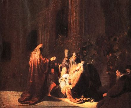 The Presentation of Christ in the Temple, Rembrandt Harmenszoon van Rijn (1606-1669)
