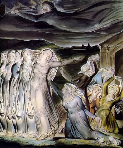 The Parable of the Wise and Foolish Virgins (1822), William Blake (1757-1827)