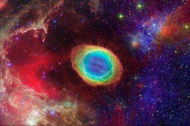 cosmos (symbol of God's eye)