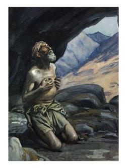 Elijah listening for the Voice of God, James Tissot (1836-1902)