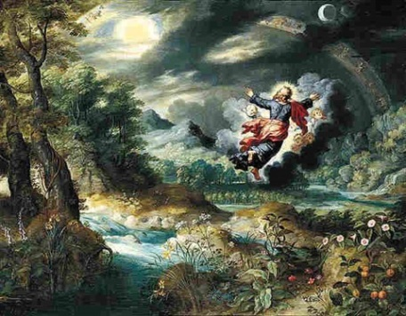 God creating Heaven and Earth, Jan Brueghel the Younger (1601-1678)