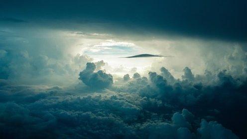 sky, clouds, sunlight