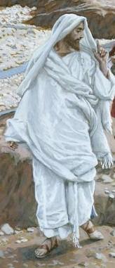 The Calling of St. Andrew and St. John (detail, Jesus), James Tissot (1836-1902)