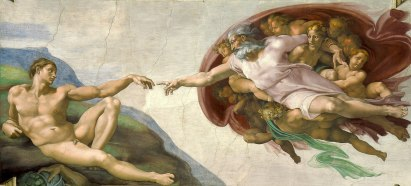 The Creation of Adam (c. 1508-1512), Michelangelo (1475-1564)