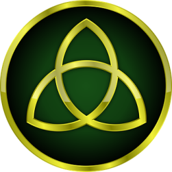 triquetra = symbol of the Trinity