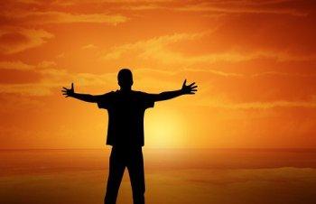 prayer silhouette3
