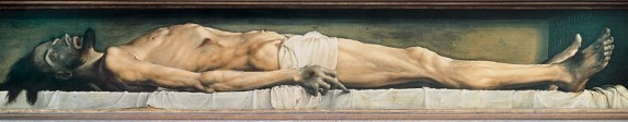 The Dead Christ, Hans Holbein the Younger (1497-1543)