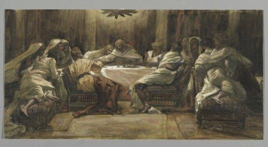 The Last Supper (La Céne) (1886-1894), James Tissot (1836-1902)