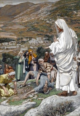 The Possessed Boy at the Foot of Mount Tabor, James Tissot (1836-1902)