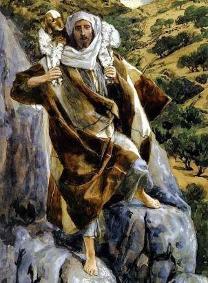 Jesus, the Good Shepherd, James Tissot (1836-1902)