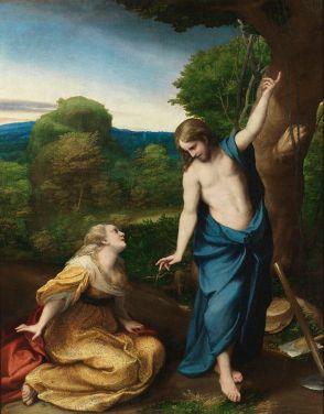 Noli Me Tangere (Touch Me Not) (c. 1525), Antonio Allegri da Correggio (1489-1534)