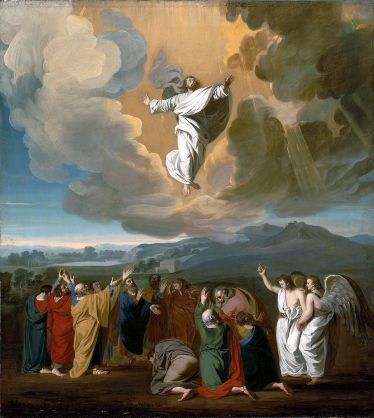 The Ascension of Jesus, John Singleton Copley (1738-1815)